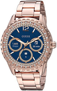 Guess Women's 'Connect Androidwear' Quartz Stainless Steel Casual Watch, Color:Rose Gold-Toned (Model: C1003L4)