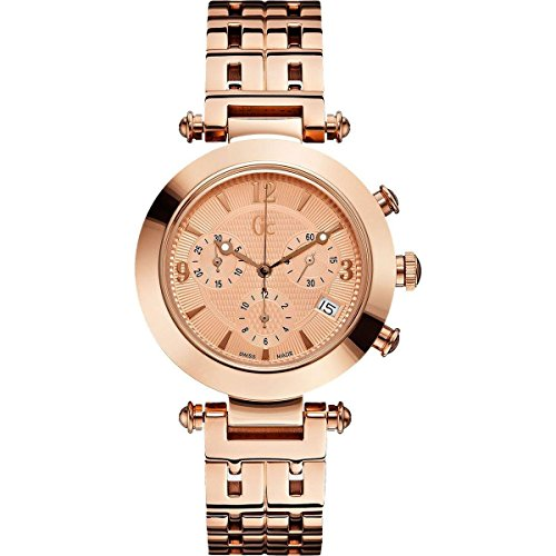 GUESS Men's GC Primera Class Rose Gold-Tone Timepiece
