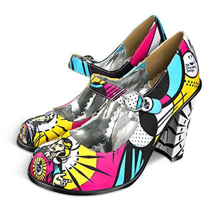Hot Chocolate Design Chocolaticas High Heels Holly Pop Women's Mary Jane Pump Multicoloured US Size: 4