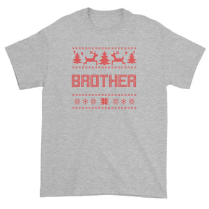 Christmas Sweater Brother Unisex T-Shirt  Matching Family
