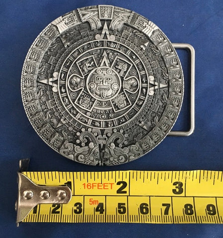Aztec Mayan - Metal Belt Buckle