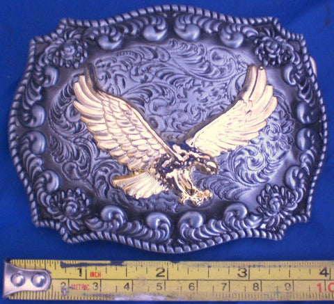 Gold Eagle - Metal Belt Buckle