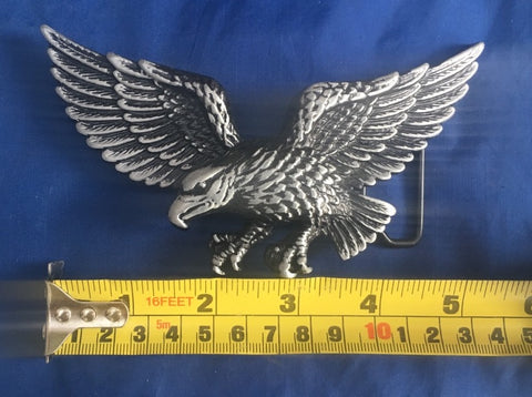 Eagle (left)- Metal Belt Buckle
