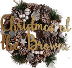 Christmas Wreath (Snowy) - A Pinch of Love Gifts