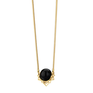 Constellations, Onyx Orbit necklace