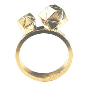 Element, Meteorite Collision Ring gold