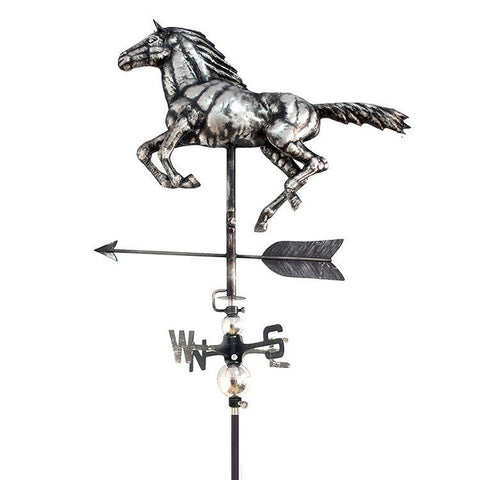 3D Horse Weathervane with Garden Stake