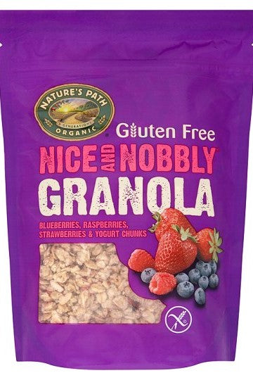NATURES PATH Nice and Nobbly Mixed Berries Gluten FRee Granola (312g)