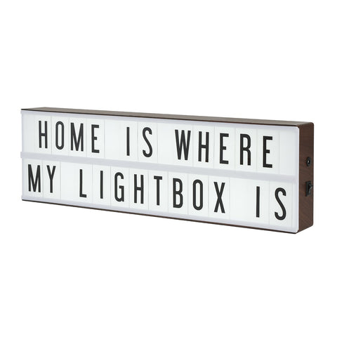 Vintage Cinema Lightbox