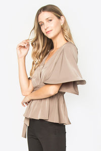 Savanah Wrap Top