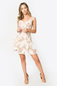 Finch Ruffle Mini Dress