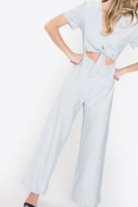 Ridgewood Striped Jumpsuit