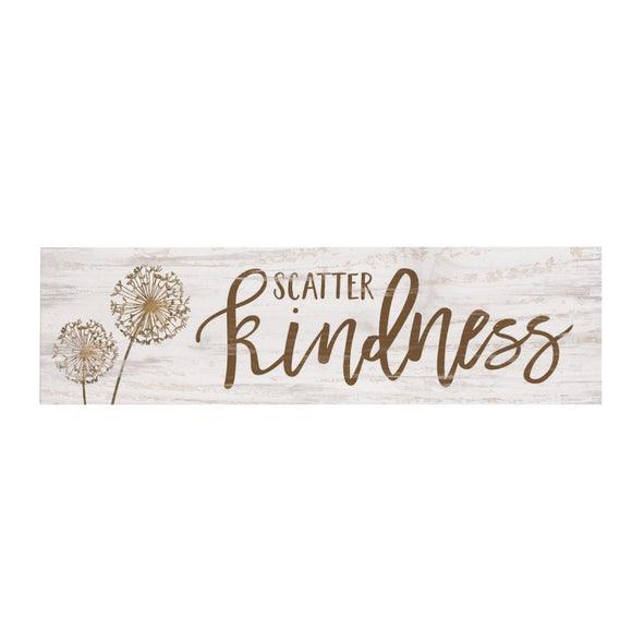 Scatter Kindness Desk Sign