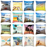 3D Style Beach Pillow Case 16 Beautifful Decorative Varieties of Cushion Covers Home Decor