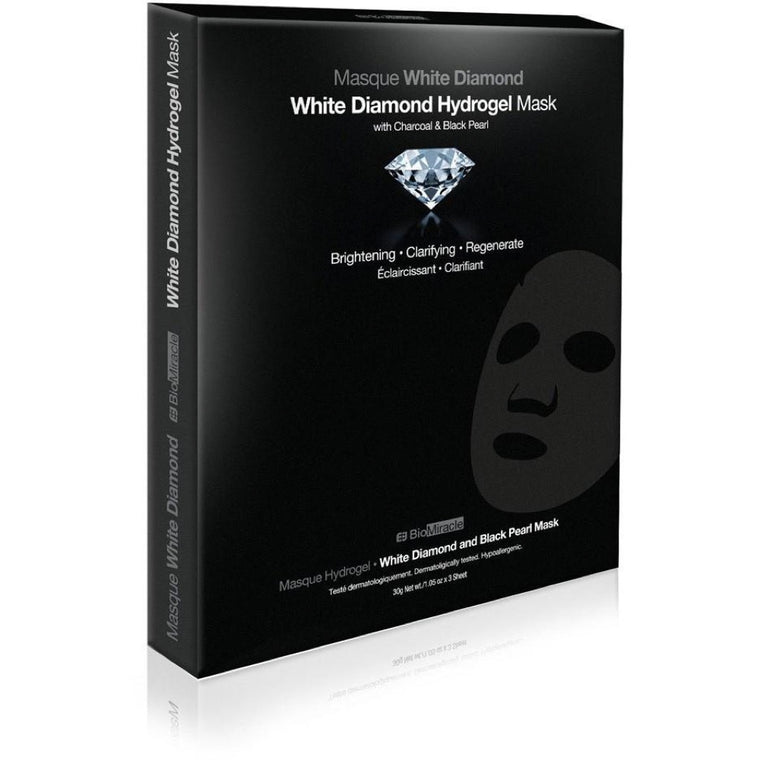 BioMiracle Jewel Series White Diamond Hydrogel Mask 3 Pack