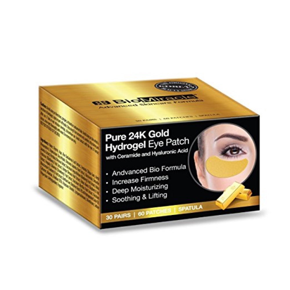 BioMiracle 24K Gold Hydrogel Eye Patch 30 pairs