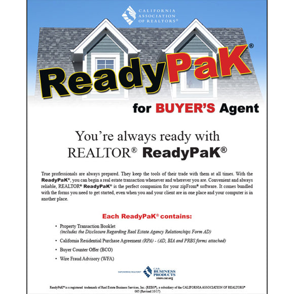 ReadyPak® for Buyers Agent