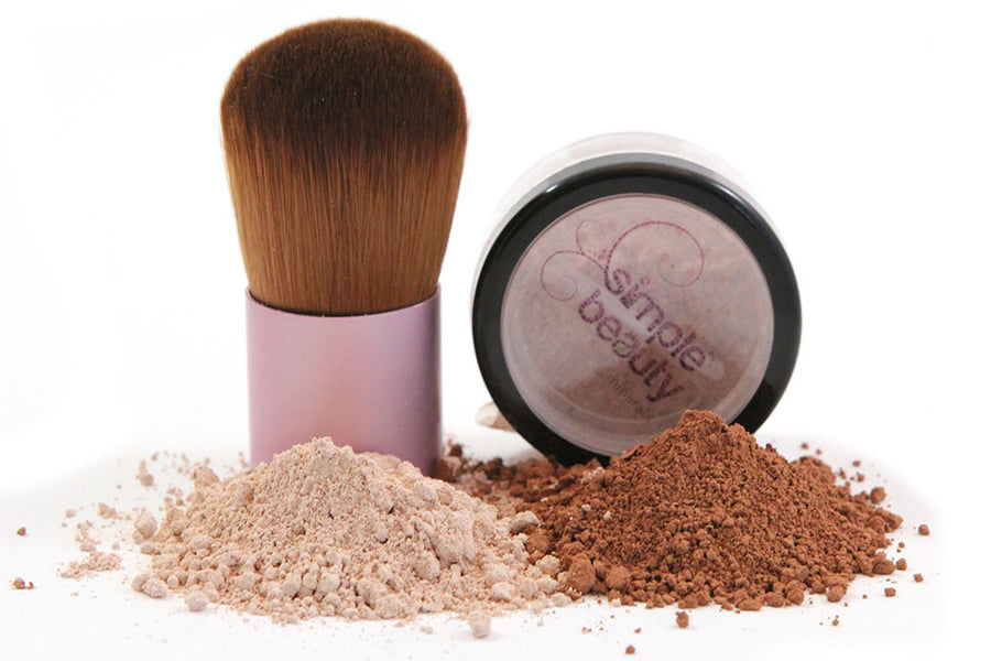 simple beauty minerals - Perfect Cover Mineral Foundation - Warm 4.5