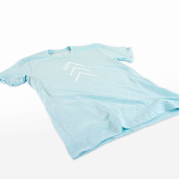 """I Ain't Doin It"" Arrows Heather Ice Blue Tee"