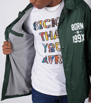 Born In 199X Coaches Jacket