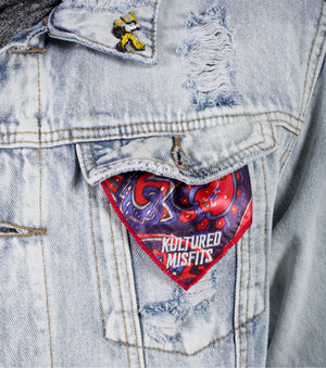 """Fresh Prince"" Denim Jacket (Distressed)"