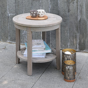 Own some pool-side flair to your garden or patio with this Richmond side table. It's versatile and durable, available from Cambridge Casual patio furniture.
