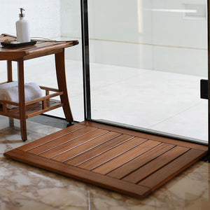 Dussi Teak Spa Shower Mat Patio Furniture