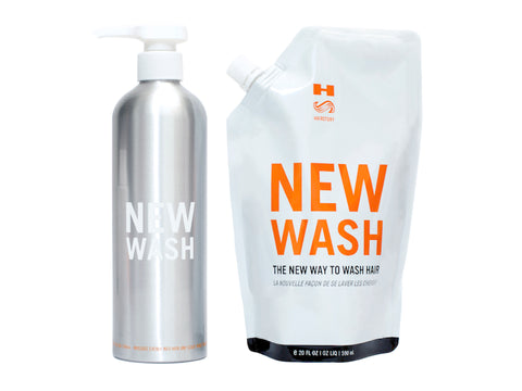 Co-washing products. Hair Story. Blonde Hair Care.