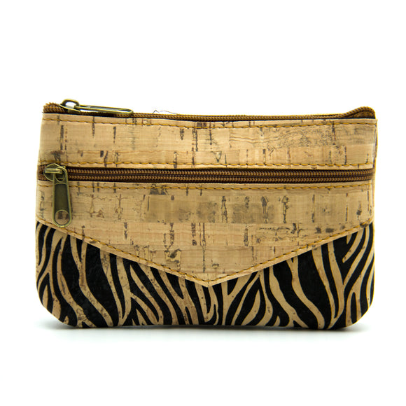 Safári - Zebra Print Two Compartment Purse