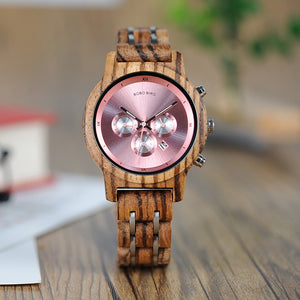 Wooden Watches for Lovers of Wood and Steel