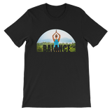 Balance Yoga T-shirt - Black Tee