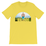 Balance Yoga T-shirt - Yellow Tee