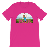 Balance Yoga T-shirt - Berry Tee