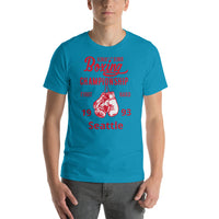 King Of The Ring Boxing Championship Custom Tees Add Year & Place T-Shirt