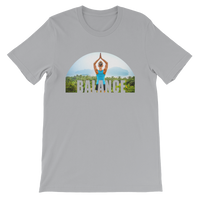 Balance Yoga Pose Graphic T-Shirt