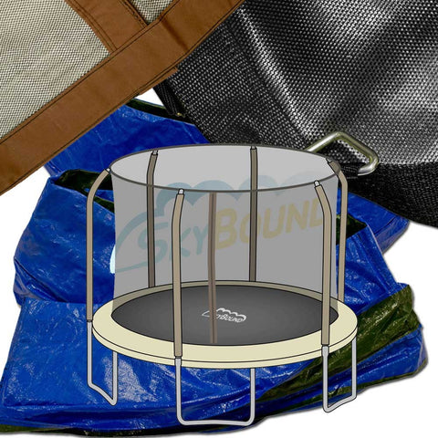 14ft Net, Mat and Pad Combo - BouncePro (TR-1686-TPR)