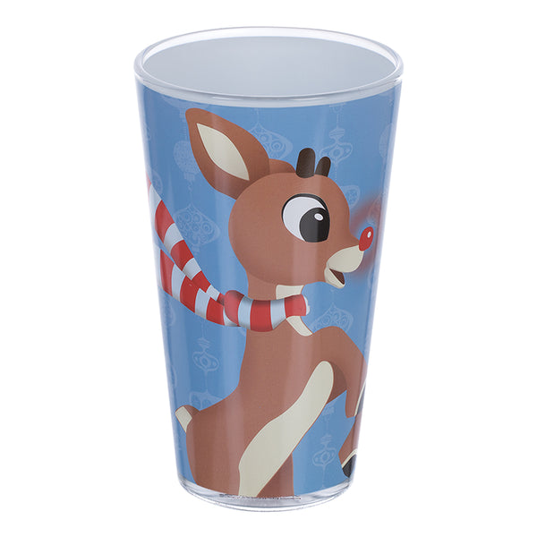 Rudolph 16 oz. Glasses - Set of 4
