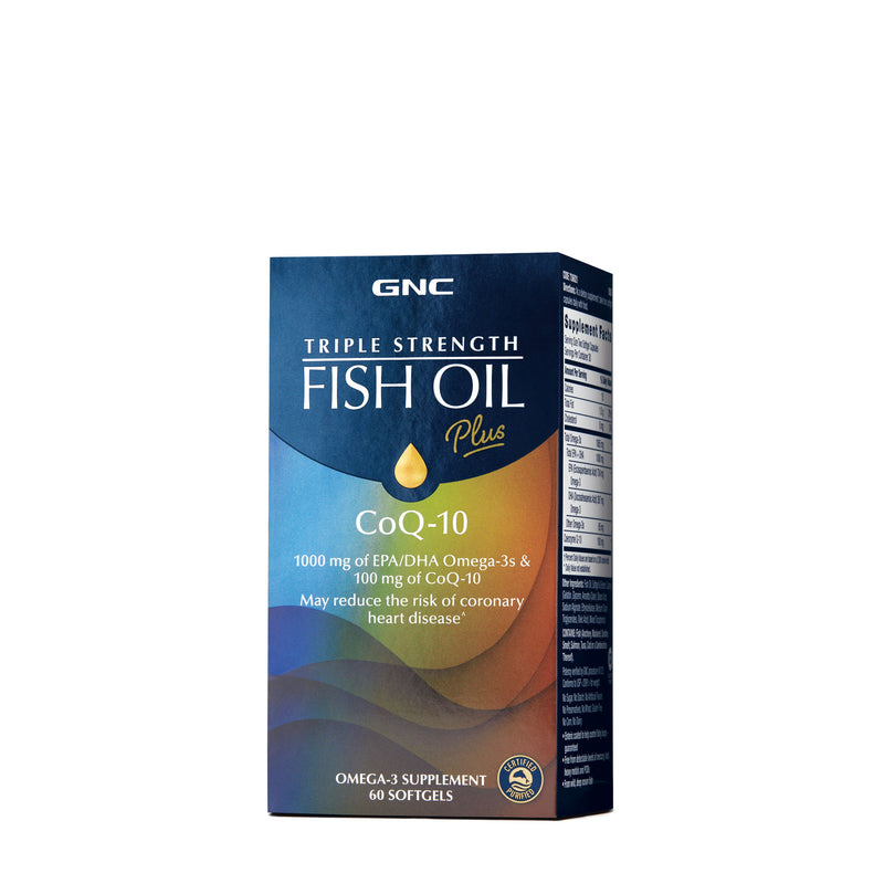 Triple Strength Fish Oil + CoQ10