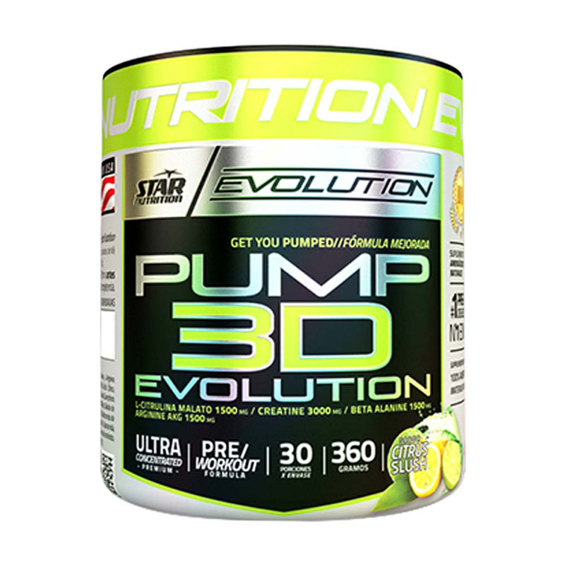 PUMP 3D - Star Nutrition - Oxido Nitrico