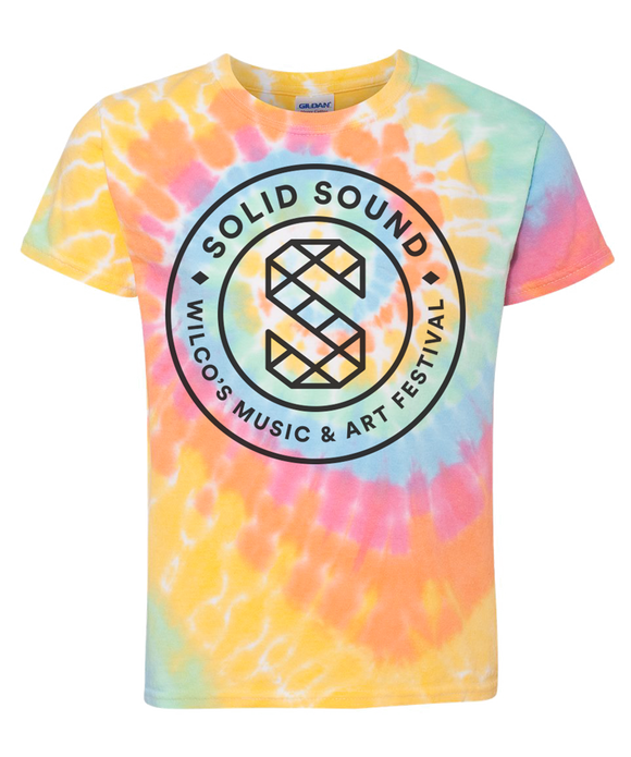 Kid's Solid Sound 2019 Tie Dye T-shirt