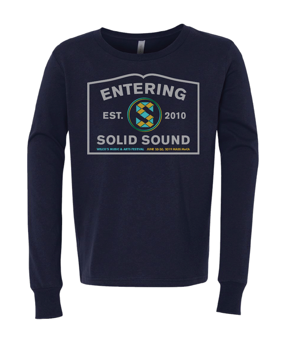Kid's Solid Sound 2019 Sign L/S T-shirt