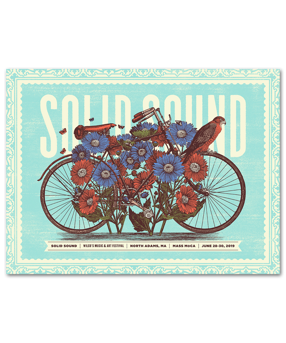 Solid Sound 2019 Petals and Pedals Poster