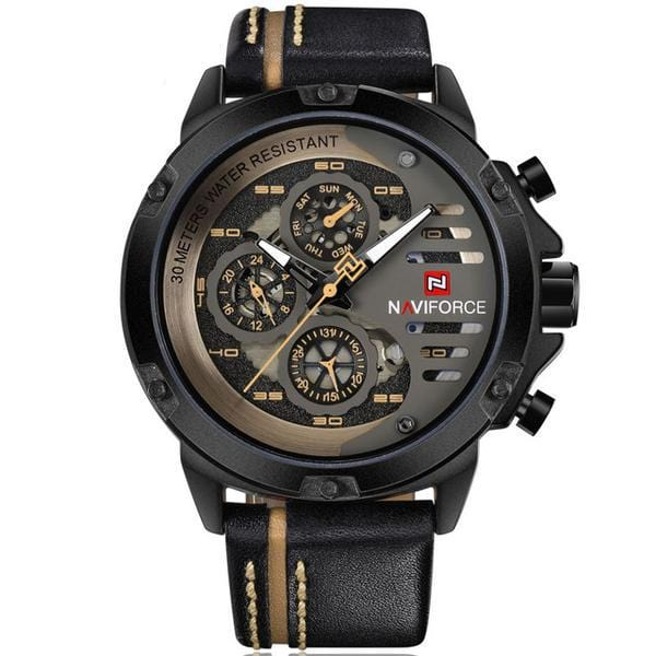 4x4 premium sport watch black