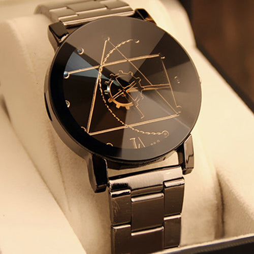free watches equilateral quartz brown watch
