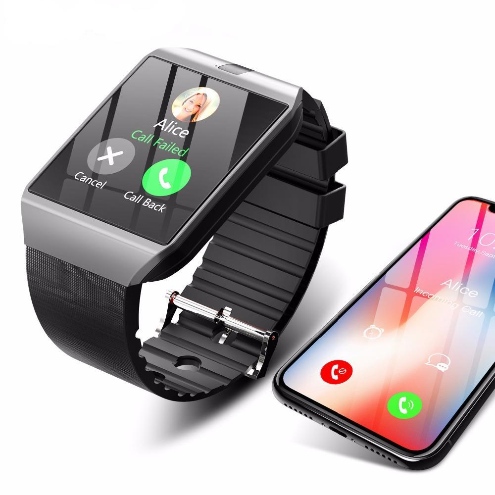 2019 Smartwatch for android silver use smartphone