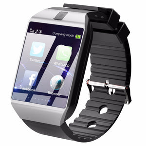 2019 Smartwatch for android silver facebook messaging