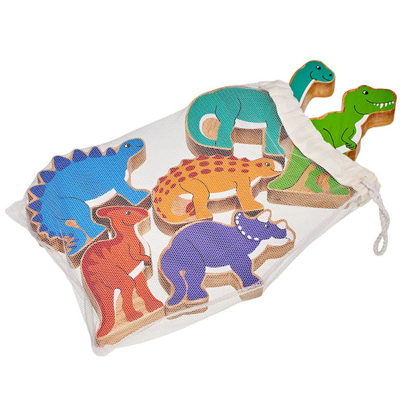 Dinosaurs bag of six - Lanka Kade