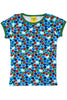 Mama - DUNS - Blueberry - Blue - Short Sleeve - Top - DUNS Adult Fashion - Snugglefox
