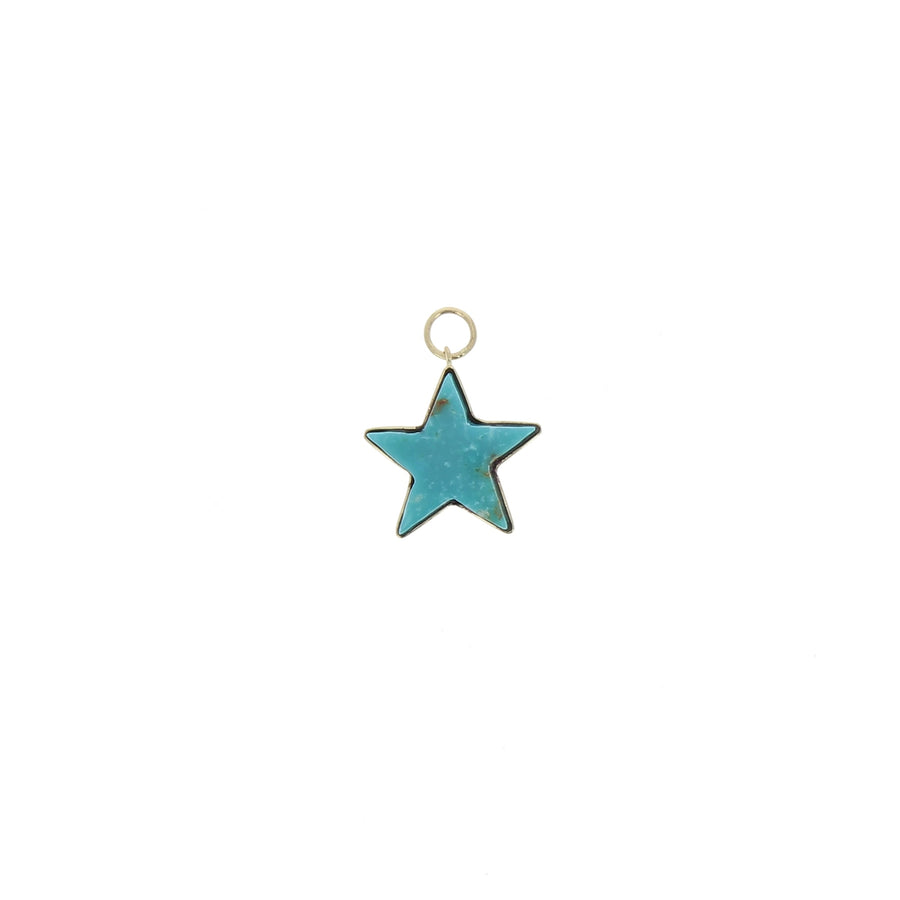 Charm Small Turquoise Star