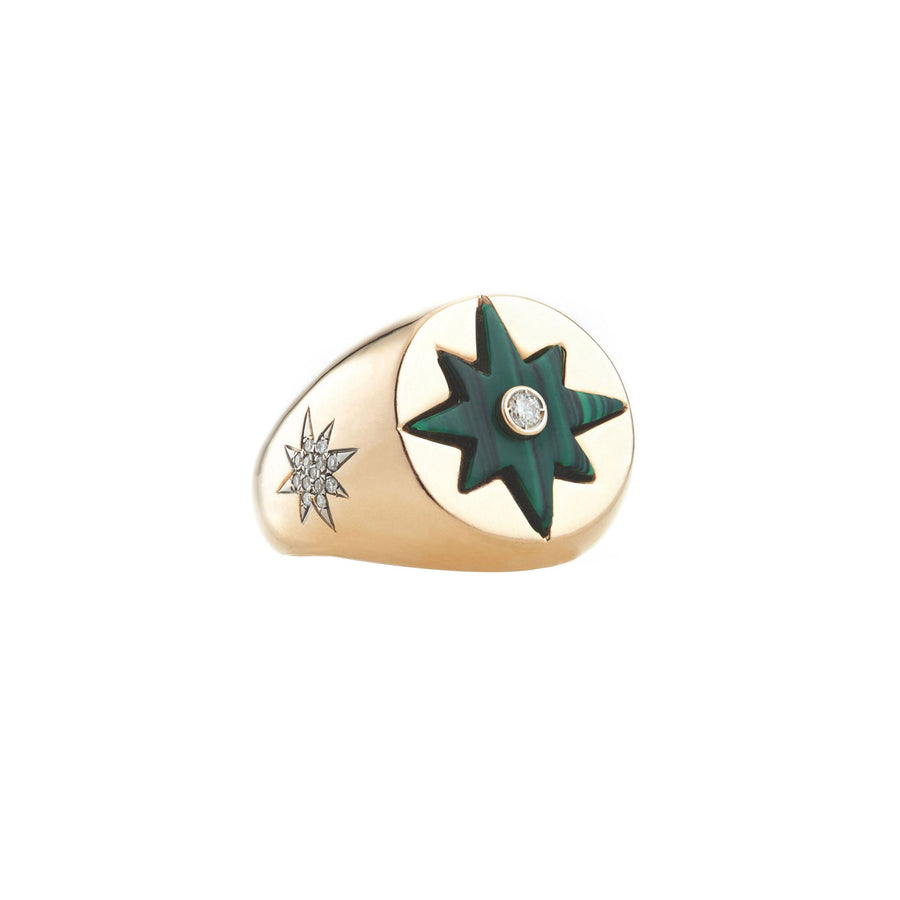 Bague Compass Star